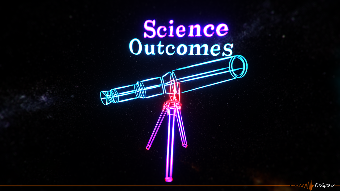 OzGrav Science Outcomes poster